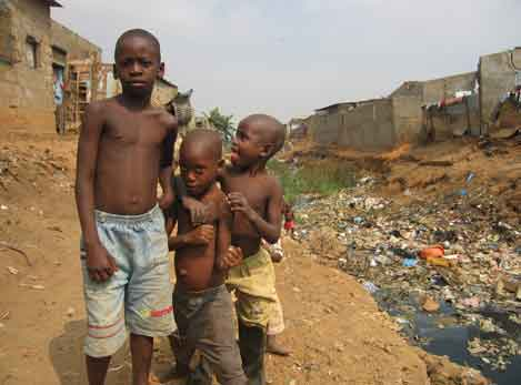 Third-world poverty