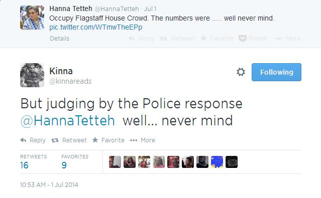 Kinna's Brilliant Response to Hanna Tetteh